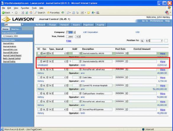 lawson software